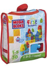Megablocks Eco Mega Bolsa 1,2,3,Chiffres