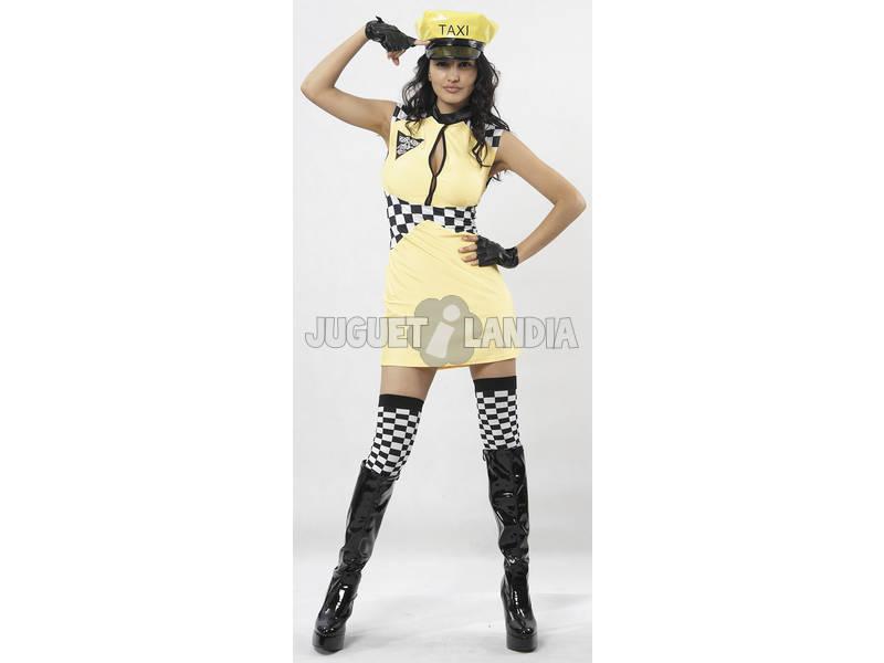 Disfraz Taxista Mujer Talla XL