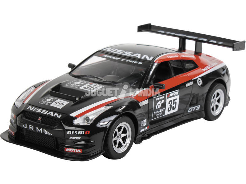 Rádio Controlo 1:16 Nissan GT3 Super Power