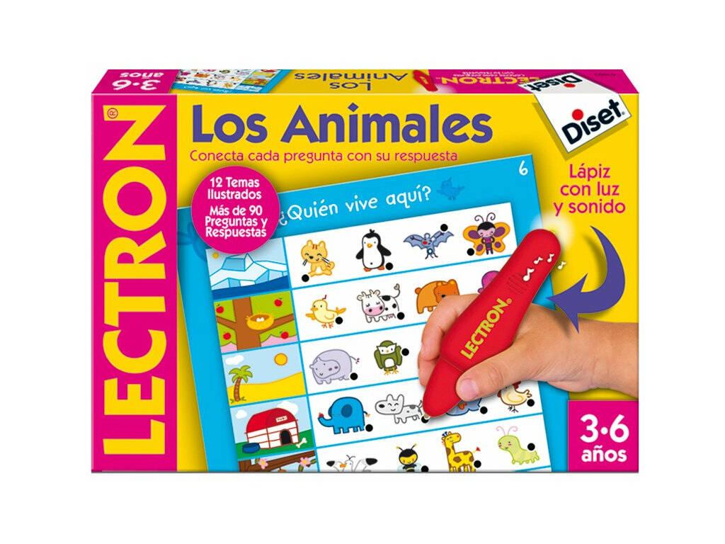 Lectron lápis os animais