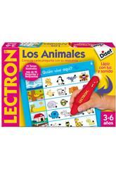 Lectron crayon animaux