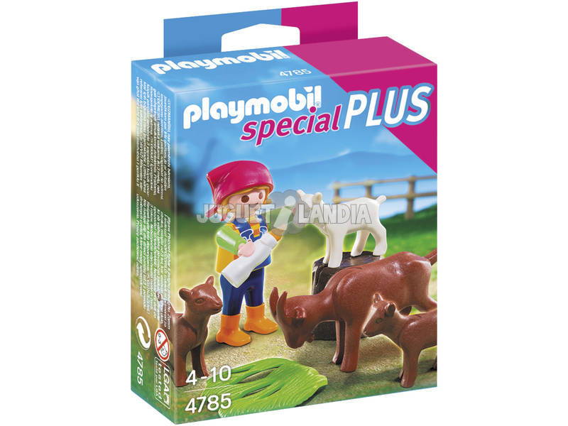 Playmobil Bambina con Capretta