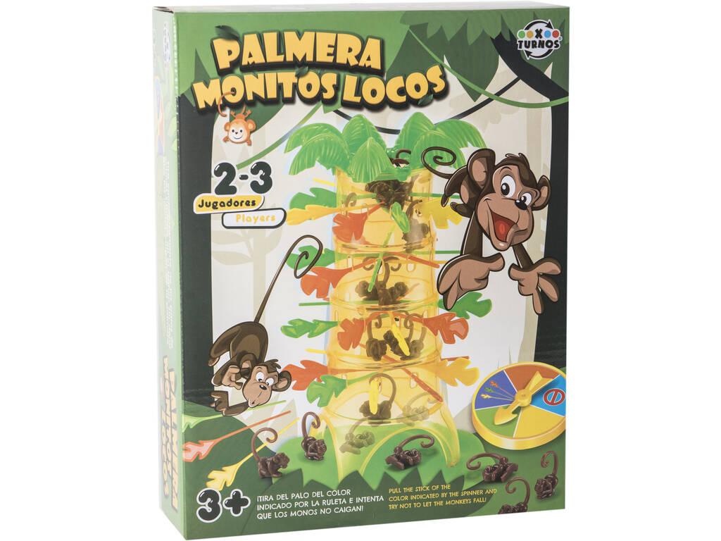 Juego Palmera Monitos Locos