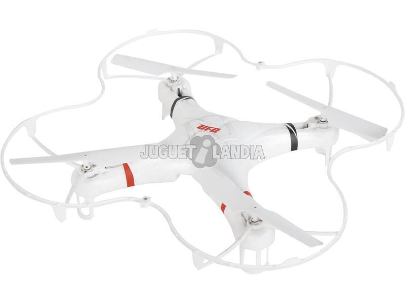 Radio Control Dron 38 cm. con Giroscopo