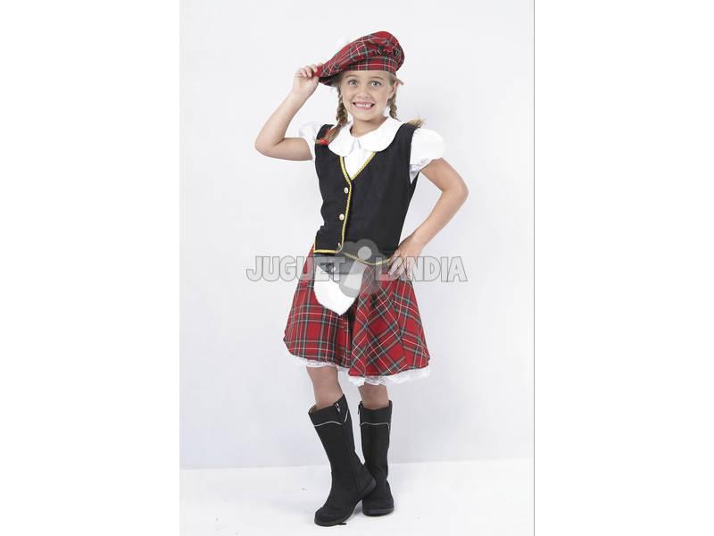 Disfraz Escocesa Niña Talla S - Juguetilandia 499727779cd