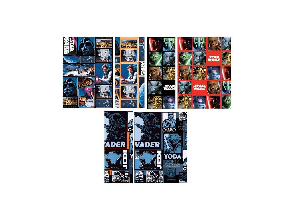 Papel de embrulho Star Wars 200 x 70 cm.