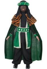 imagen Disfraz Rey Baltasar Niño Talla S Llopis 3581-1