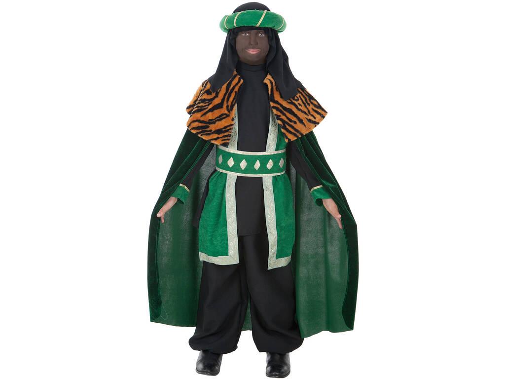 Disfraz Rey Baltasar Niño Talla L