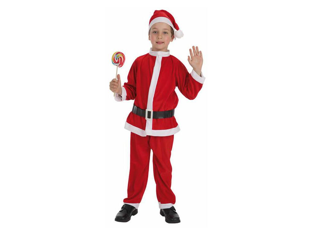 Fantasia Pai Natal Menino Tamanho S Llopis 8267 - 1