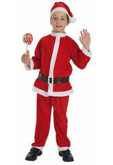 Disfraz Papa Noel Niño Talla S Llopis 8267-1