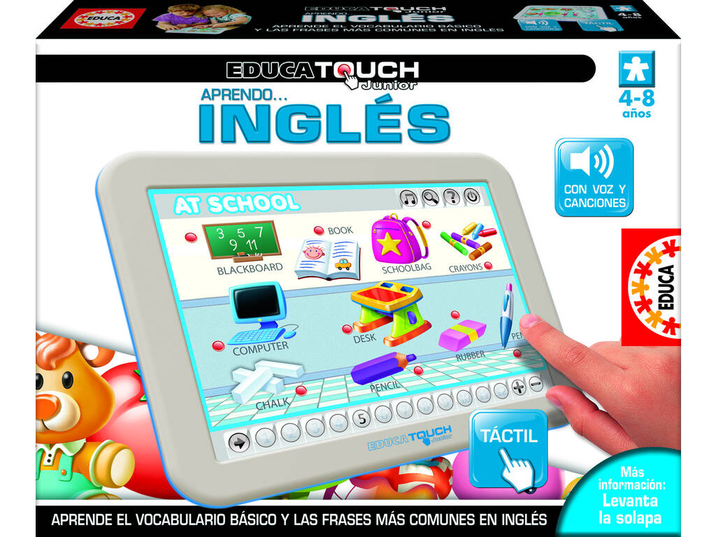 Educa Touch Junior Aprendo Inglés