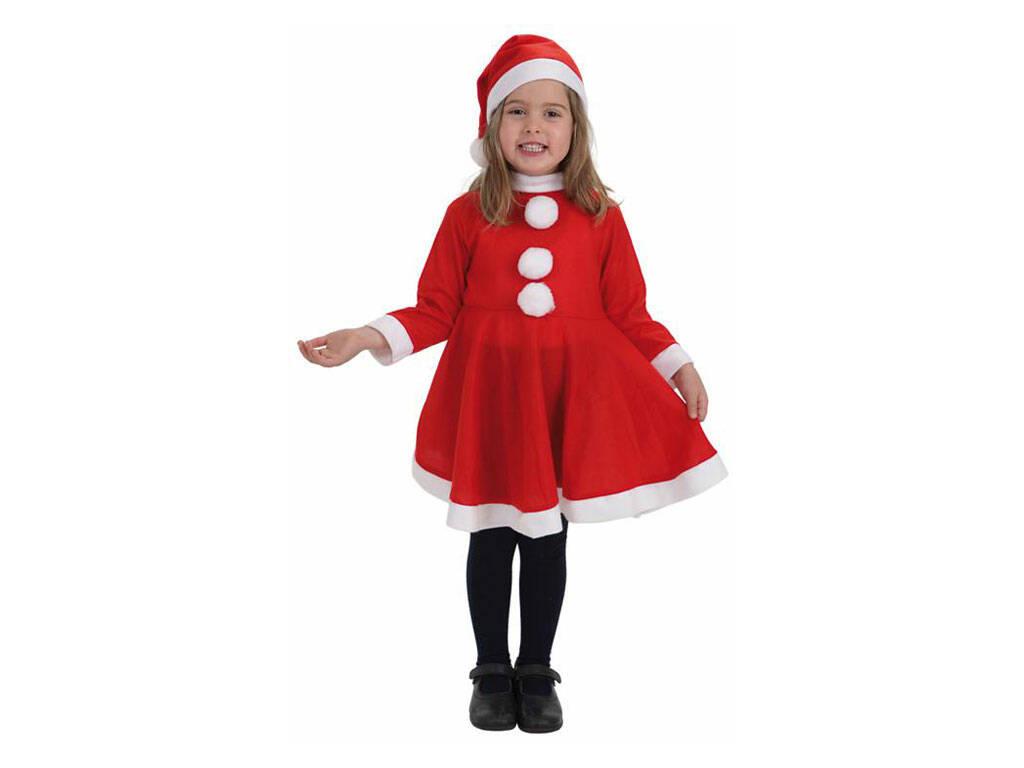 Fantasia Mãe Natal Menina Tamanho L Llopis 8268