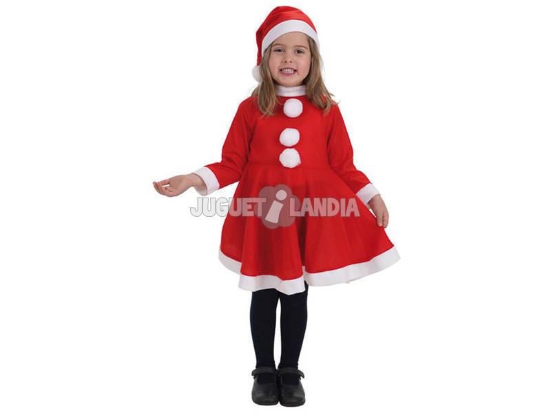 Fantasia Mãe Natal Menina Tamanho M Llopis 8268 - 3