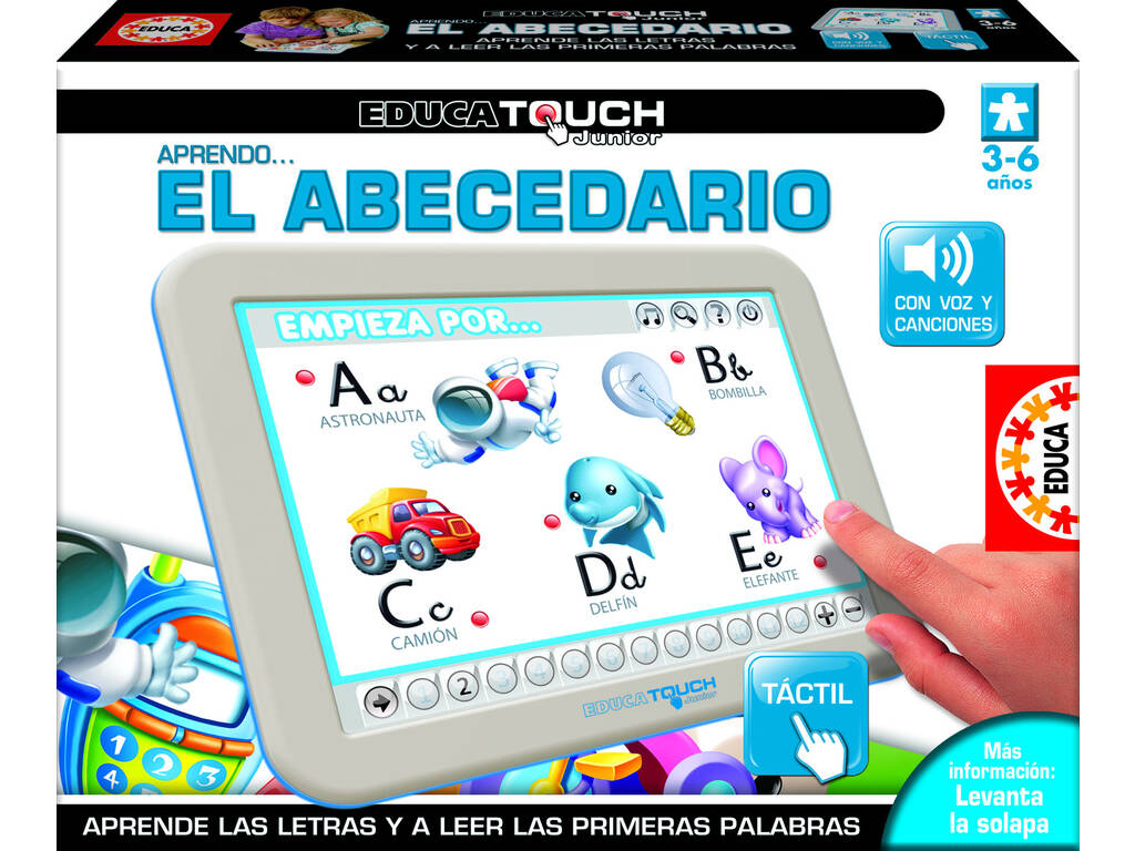 Educa Touch junior imparo l'abecedario