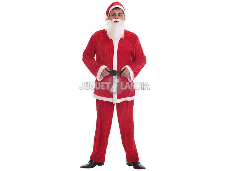 Disfraz Adulto Papa Noel Hombre Talla L