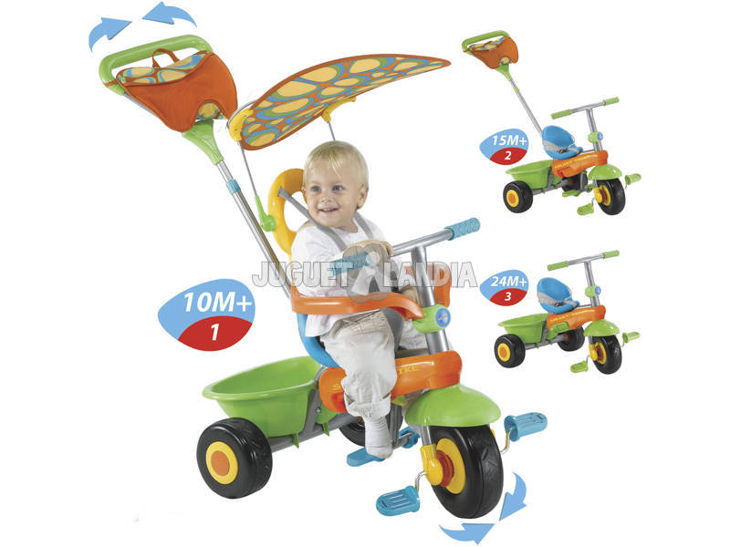 Tricycle Smart Trike fresh 3 en 1