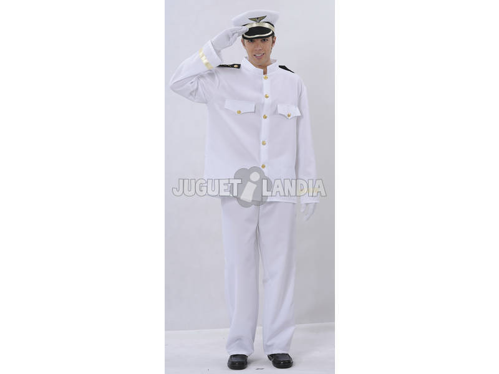 Disfraz Capitan de Barco Hombre Talla XL
