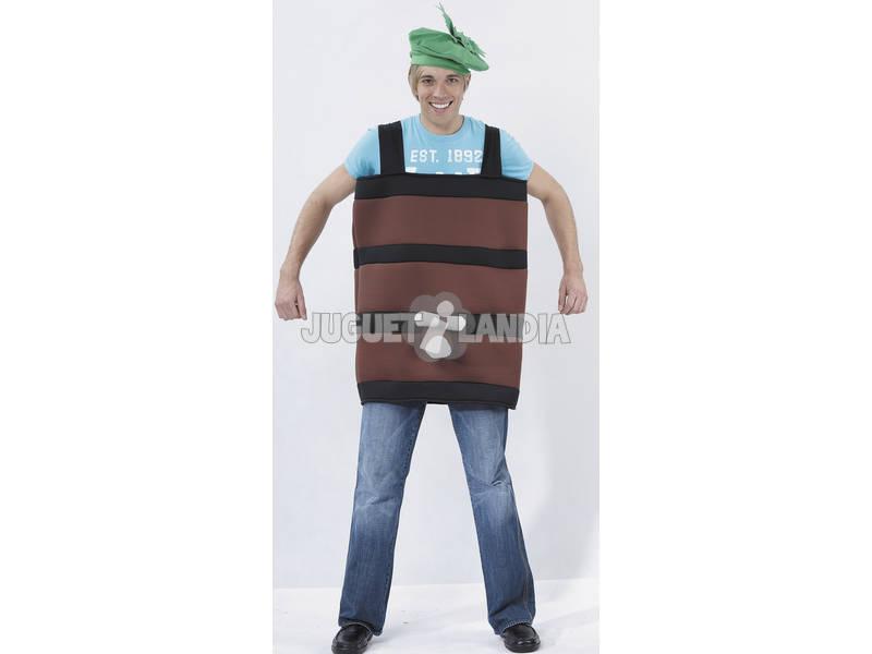 Disfraz Barril Hombre Talla XL