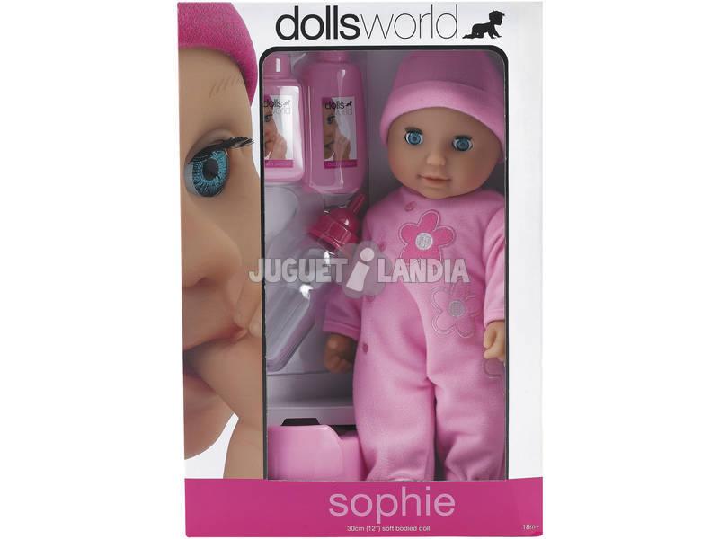 Muñeca Sophie 30 cm. con Accesorios