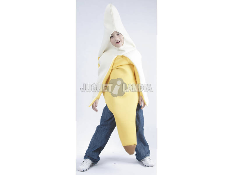 Disfraz Banana Niño Talla S