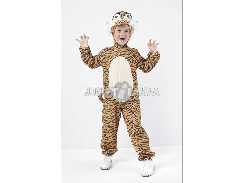 Disfraz Tigre Niño Talla S