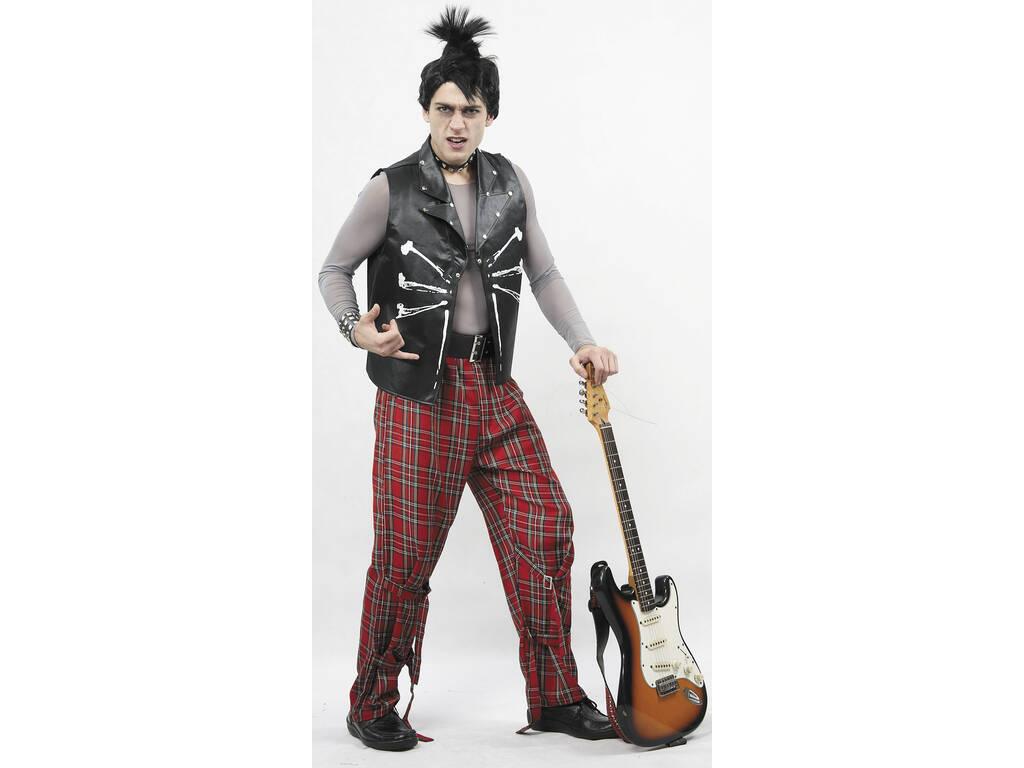 Fantasia Punk Homem Tamanho XL