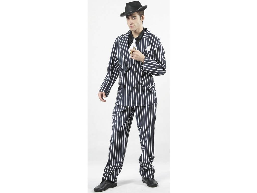 Disfraz Gangster Hombre Talla XL