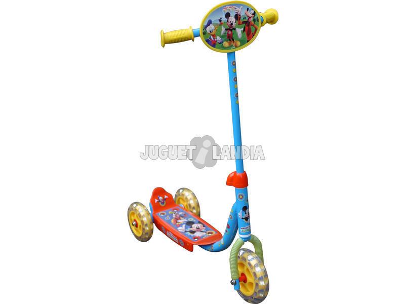 Patinete 3 ruedas Mickey