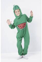 Déguisement de melon d´eau pour garçon taille M