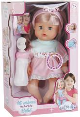 Bebé Niña con Biberon