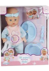 Bebé Pelón con Orinal y Accesorios