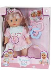 imagen Muñeca Surtido Bebé Niña Con Orinal y Accesorios 30x14cm