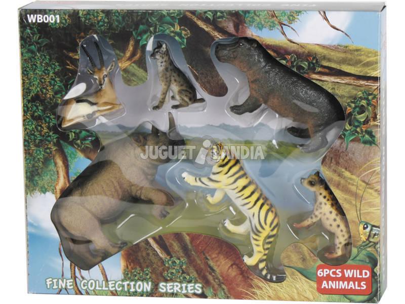 Animales Wild Life de 6 piezas