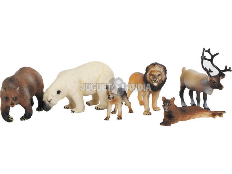Animais Selva 6 Peças