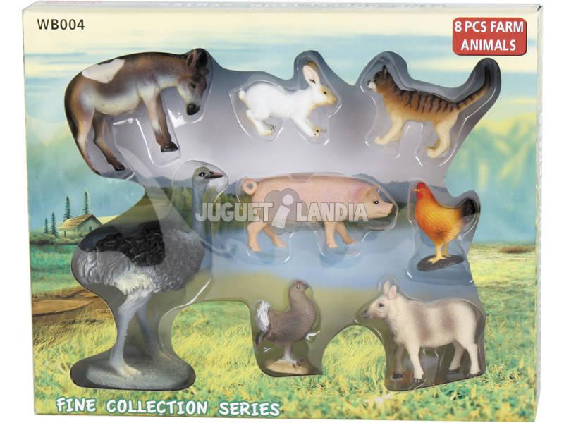Animais de Fazenda 6 peças