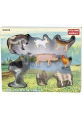 Animales Granja 6 piezas
