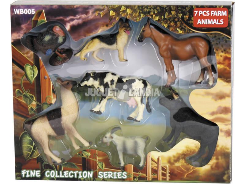 Animales de Granja 7 piezas
