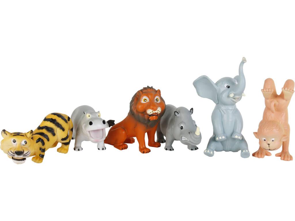 Animais Selvagens 6 Pe