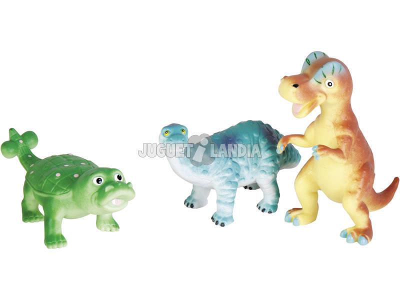Dinosauri divertenti 3 pezzi.