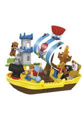Blocs de Construction 60 pièces Bâteau Pirate