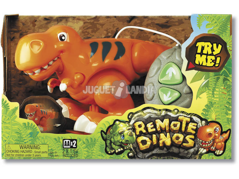 Dinosaurio dirigido control remoto