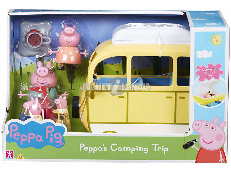 Motorhome Peppa Pig Bandai 84211