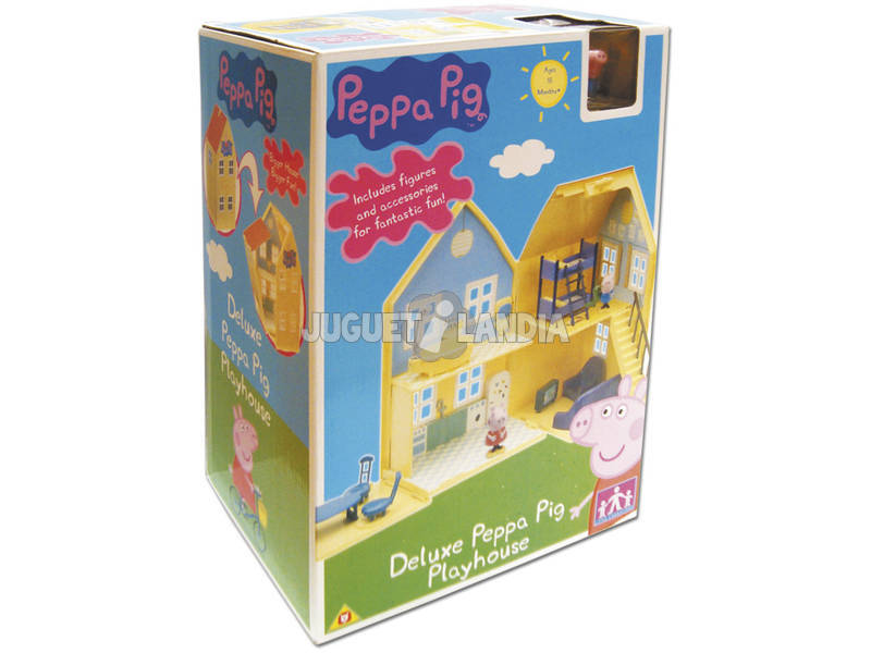 acheter peppa pig maison juguetilandia. Black Bedroom Furniture Sets. Home Design Ideas