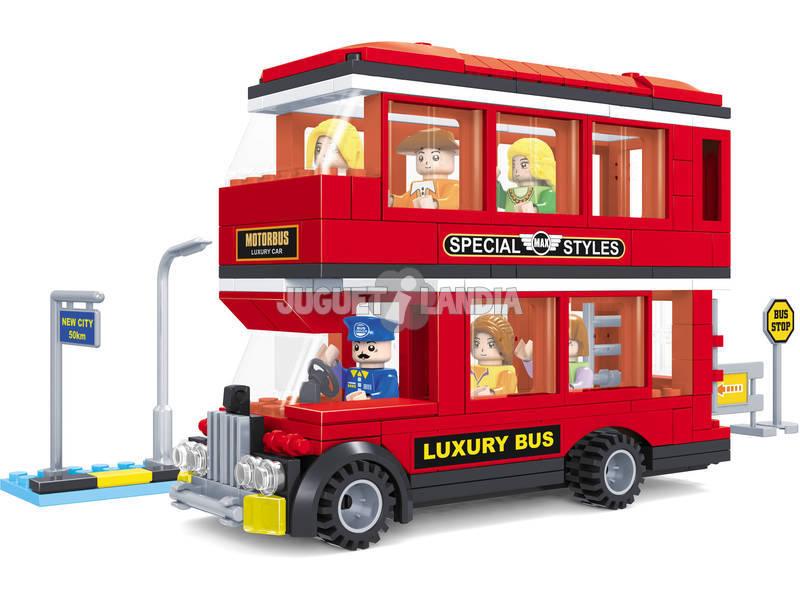 acheter autobus deux tages 282 pi ces city juguetilandia. Black Bedroom Furniture Sets. Home Design Ideas