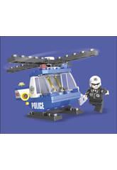Hélicoptère Police 47 Pièces City