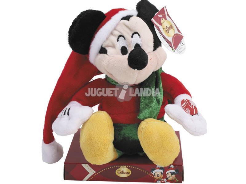 Mickey navidad musical sentado
