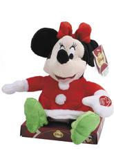 Minnie navidad musical sentada