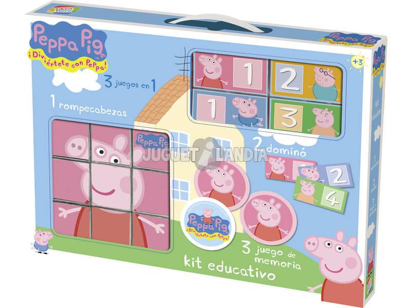 Kit educativo Peppa Pig Cefa Toys 88234