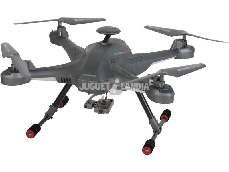 Radio Control Dron Sky Hunter con Camara y LCD