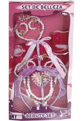 Set Belleza Varita, Collar y Diadema Princesa Azul